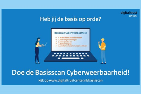 Digital Trust Center helpt ondernemers met Basisscan Cyberweerbaarheid
